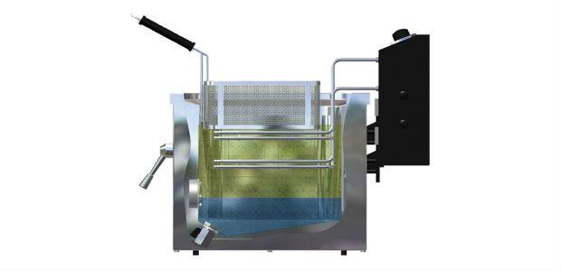 Freidora de agua-aceite Movilfrit