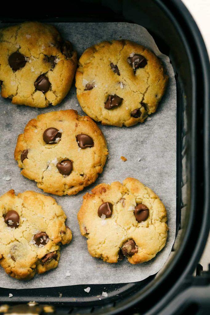 recetas de galletas en airfryer