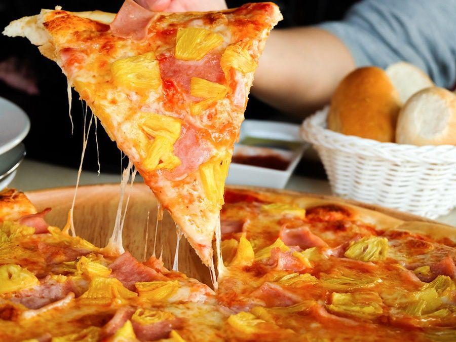 como hacer pizza en airfryer