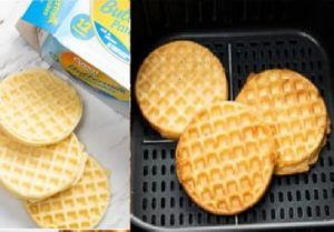 Waffles en Freidora de Aire